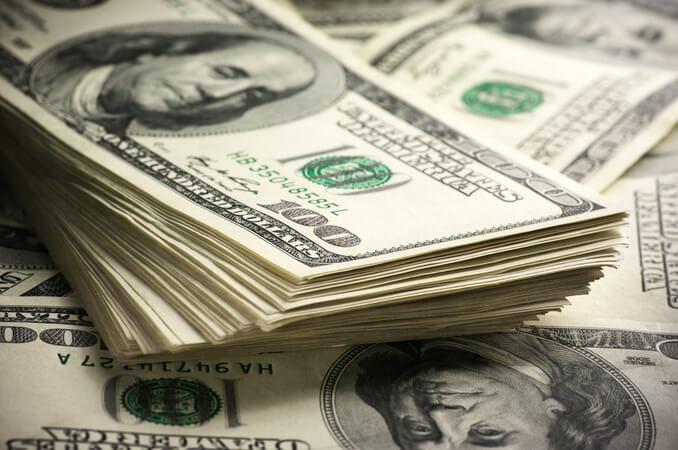 курс долара у банках Вінниці